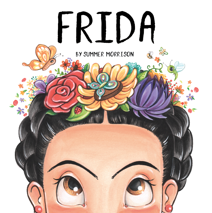 Frida Board Book Cover