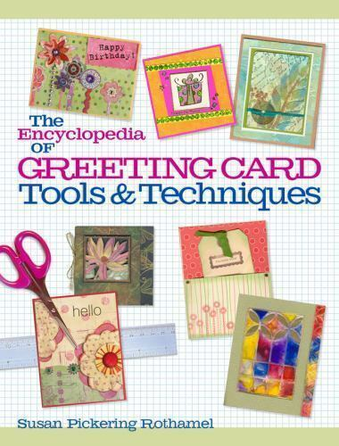 The Encyclopedia of Greeting Card Tools & Techniques Book Cover